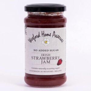 no added sugar strawberry jam wexford preserves ireland