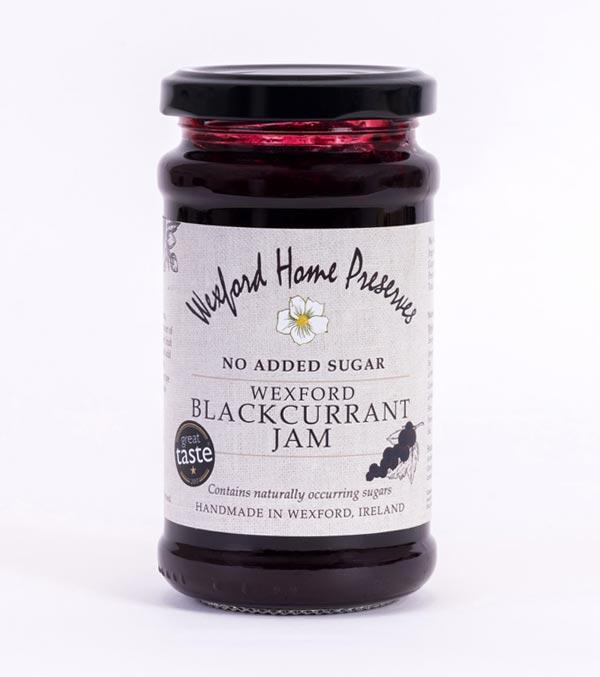 no added sugar blackcurrant jam wexford preserves ireland