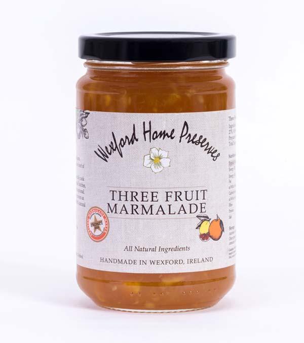 three fruit marmalade wexford preserves ireland