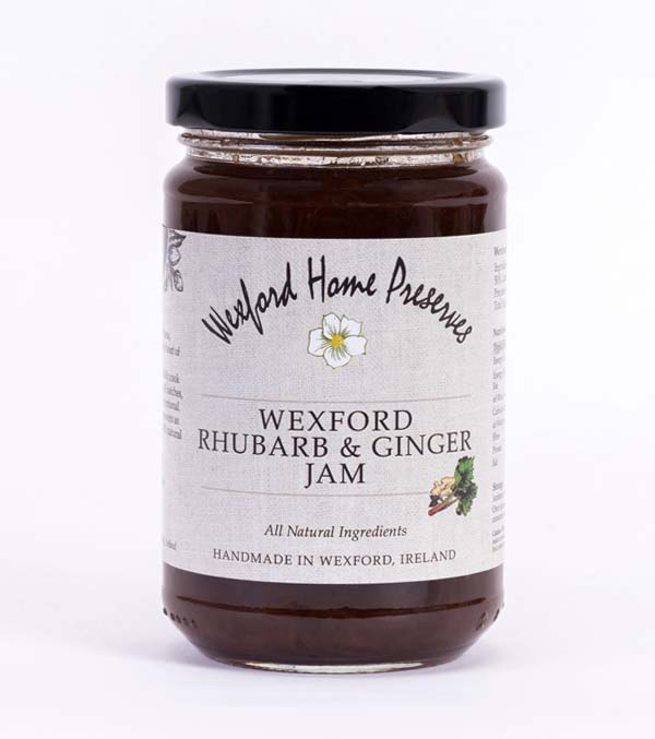 wexford rhubarb ginger jam wexford preserves ireland